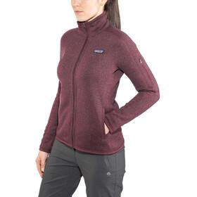 Patagonia Better Sweater Jacket Women dark currant